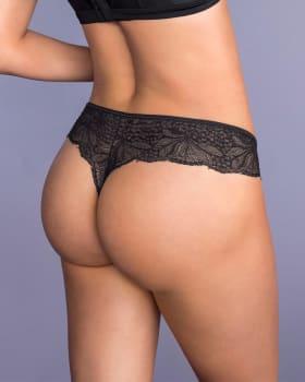 panty estilo tanga brasilera con laterales y encaje--ImagenPrincipal