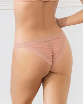 panty tipo tanga en tul con refuerzo interno en algodon--MainImage
