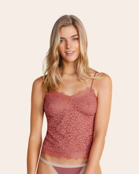 blusa en encaje con silueta semiajustada-185- Terracota-ImagenPrincipal