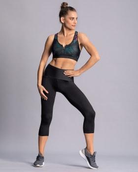 high-waisted side pocket shaper legging - activelife-700- Black-MainImage