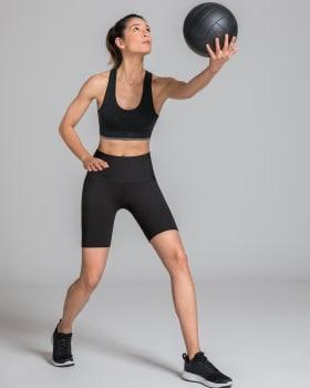 short medio con control de abdomen con doble capa-700- Negro-MainImage