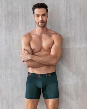 boxer medio de secado rapido con mallas transpirables-605- Verde Esmeralda-MainImage