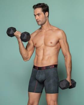 boxer deportivo con bolsillo lateral-072- Gris Estampado-MainImage
