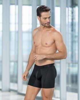 mens padded bum enhancer boxer brief-700- Negro-MainImage