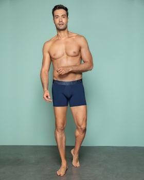 boxer corto ergonomico con realce de gluteos dual lifter boxer-509- Azul Oscuro-MainImage