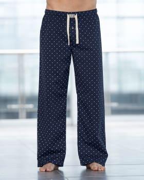 pantalon largo en algodon comodo y funcional para hombre-536- Azul Estamapado-MainImage