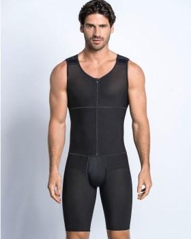 leo post-surgical compression bodysuit-700- Black-MainImage