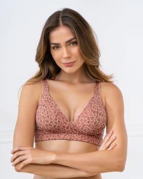 multipurpose pullover seamless sleep bra - daily or maternity-099- Estampado Manchas-MainImage