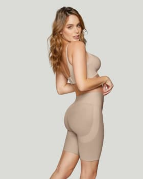 firm compression butt lifter shaper short-802- Cafe Claro-MainImage