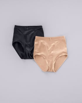2-pack high cut classic panty shapers--MainImage