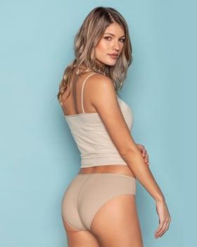 paquete x 3 calzones tipo bikini en algodon con total cubrimiento-S08- Assorted-MainImage