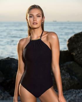 the high-neck one-piece bathing suit-700- Black-MainImage