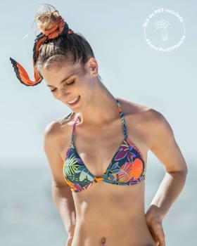 top de bikini ideal para broncearte elaborado con pet reciclado-661- Fucsia Estampado-MainImage