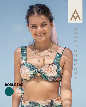 top de bikini doble faz anudable en espalda elaborado con pet reciclado-064- Estampado Flores-MainImage