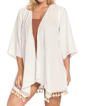 kimono ligero con flecos-018- Ivory-MainImage