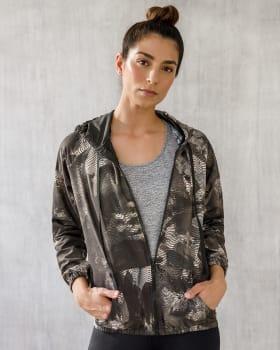 loose fit side pocket zip-front active hoodie - activelife--MainImage