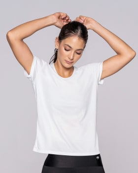 quick-dry active t-shirt-000- White-MainImage