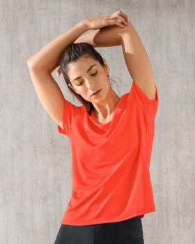 camiseta deportiva de secado rapido y silueta semiajustada-273- Naranja-ImagenPrincipal