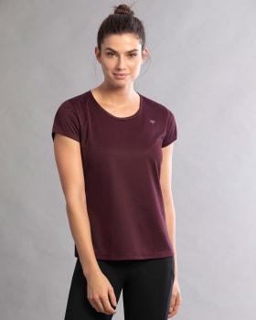 quick-dry active t-shirt-349- Vino Tinto-MainImage