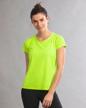 quick-dry short sleeve round-neck active tee-602- Verde-MainImage