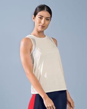 camiseta deportiva con malla transpirable en sisa y laterales-000- White-MainImage