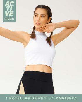 camiseta deportiva tipo crop top elaborada con pet reciclado--MainImage