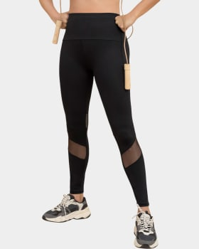 mid-rise mesh cutout shaper legging-activelife-700- Black-MainImage