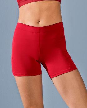 short corto deportivo ajustado y ligero con comodo elastico en cintura-340- Rojo Fuerte-MainImage