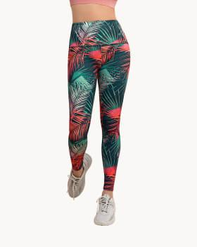 legging tiro alto de control moderado en cintura en material pet reciclado-061- Estampado Hojas-MainImage