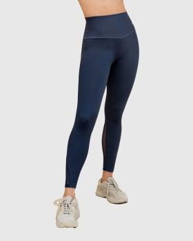 legging deportivo con control de abdomen y tela antibacterial con aloe vera-588- Azul Oscuro-MainImage