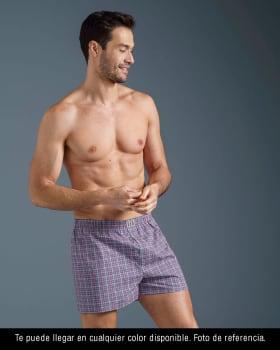 paquete x2 boxers sueltos en algodon de maxima frescura te llegara en el color disponible-995- Assorted-MainImage