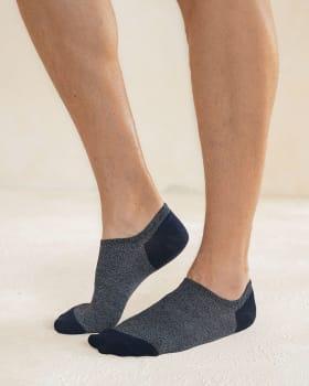 paquete x 2 calcetines baleta tenis para hombre-968- Surtido-MainImage