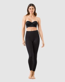 comfy high-waisted textured slimming legging--MainImage