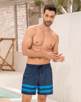 pantaloneta corta de bano para hombre elaborada con pet reciclado-509- Azul-MainImage