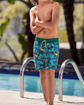 boys semi-fitted trunk with pockets-540- Blue-MainImage