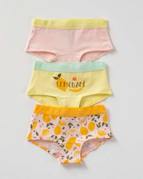 3-pack girls hiphugger panties--MainImage