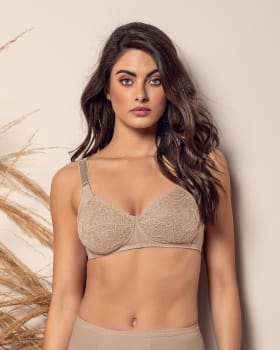 wireless comfy control bra in lace-802- Nude-MainImage