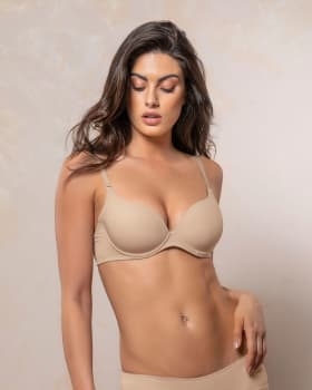 push up bra with multiway straps-802- Nude-MainImage