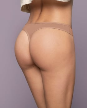 low-rise classic microfiber thong panty-A22- Rosa Viejo-MainImage