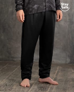 high-protection anti-pollution cover trouser for men - suitable for pandemic-700- Black-MainImage