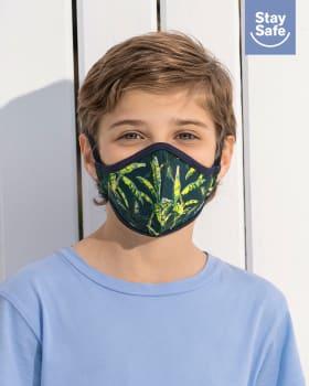 tapabocas infantil hermetico proteccion triple capa tecnologia antifluido y antibacterial - unisex-509- Azul Oscuro-MainImage