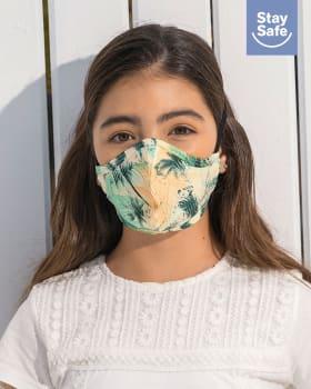 mascarilla infantil hermetica proteccion triple capa tecnologia antifluido y antibacterial - unisex-574- Azul Claro-MainImage