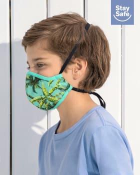 mascarilla infantil hermetica proteccion triple capa tecnologia antifluido y antibacterial - unisex-601- Verde-MainImage
