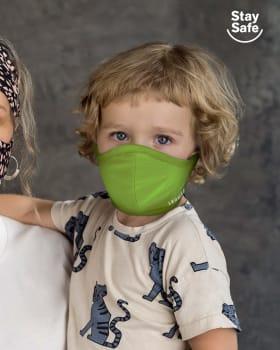 tapabocas infantil hermetico proteccion triple capa tecnologia antifluido y antibacterial unisex-602- Neon Green-MainImage