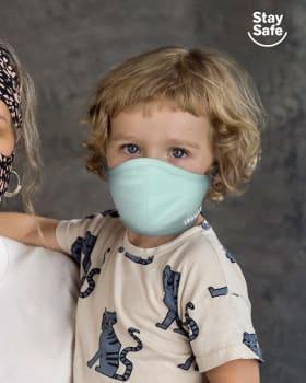 tapabocas infantil hermetico proteccion triple capa tecnologia antifluido y antibacterial unisex-634- Green-MainImage