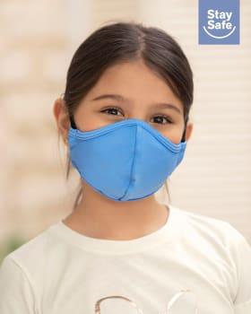 tapabocas infantil hermetico proteccion triple capa tecnologia antifluido y antibacterial - unisex-902- Azul-MainImage