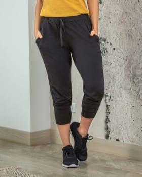 jogger con pretina ancha y bolsillos laterales-700- Black-MainImage