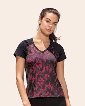 activelife v-neck raglan athletic t-shirt-145- Printed-MainImage