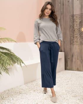 pyjamahose im culotte-stil-457- Azul Oscuro-MainImage