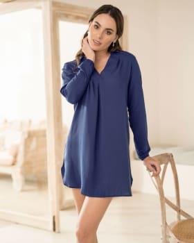 batola de pijama corta y manga larga-457- Azul Oscuro-MainImage